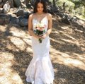 White Tulle Lace Time Will Tell 2014 Runway Collection Sexy Wedding Dress Size 2 (XS)