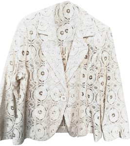 For Cynthia White Blazer