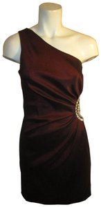 Cache One Shoulder Rhinestones Night Out Sexy Onn001 Dress