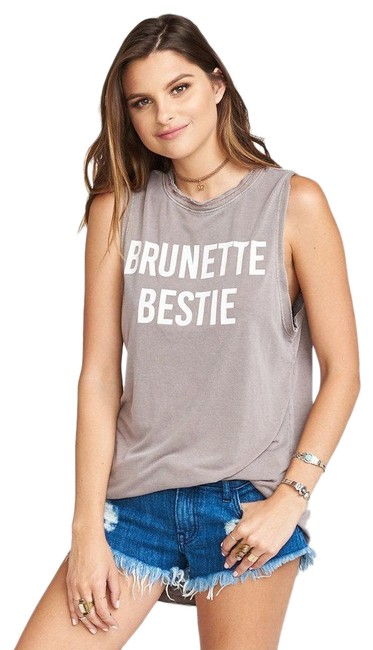 Item - Brown Mikey Muscle - Brunette Bestie Tank Top/Cami Size 6 (S)