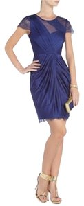 BCBGMAXAZRIA Prom Homecoming Navy Dress