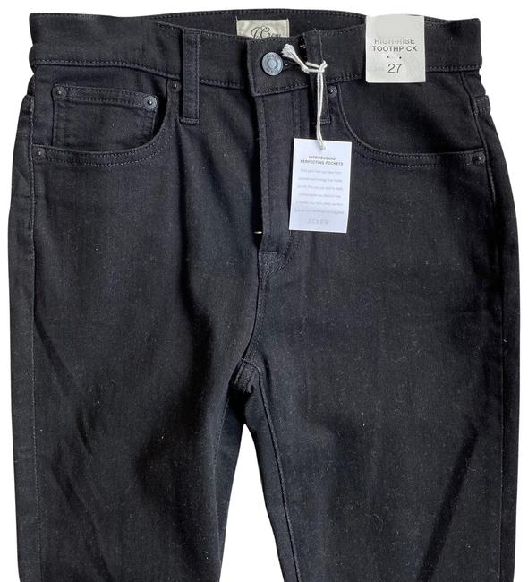 Item - Black High-rise Toothpick Skinny Jeans Size 4 (S, 27)