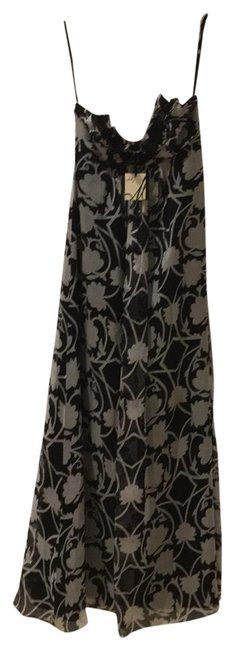 Item - Black and White Long Night Out Dress Size 4 (S)