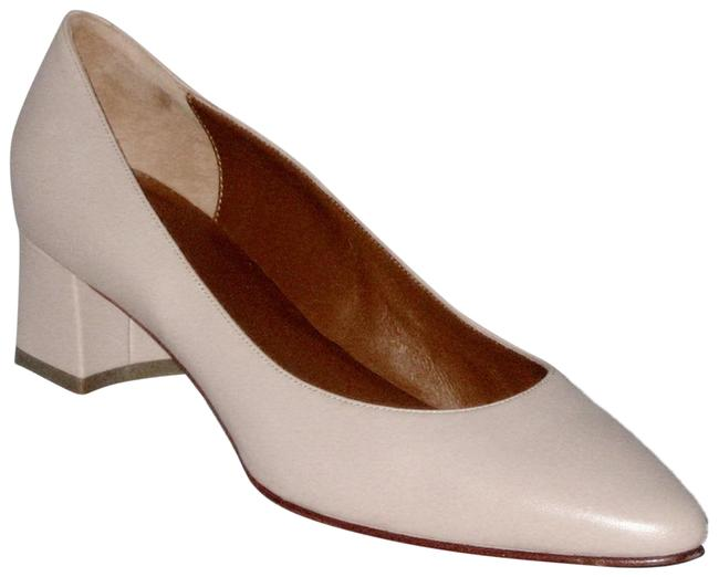 Item - Nude Pheobe Leather Made In Italy Pumps Size US 9.5 Regular (M, B)