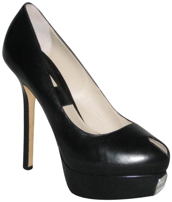 Item - Black Susana Leather Pump Platforms Size EU 39.5 (Approx. US 9.5) Regular (M, B)