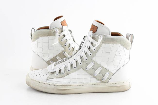 Item - White Hekem High-top Sneakers Shoes