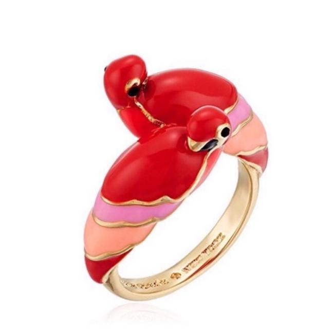Item - Red/Gold • Out Of The Office Parrot Ring