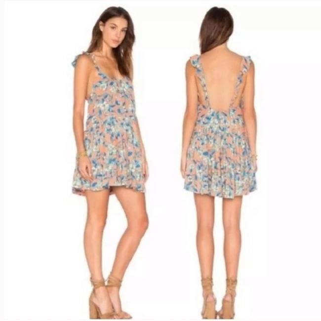 Free People short dress Orange Blue on Tradesy Image 6