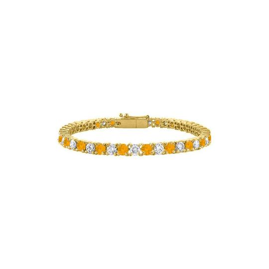 Preload https://img-static.tradesy.com/item/26182880/yellow-cubic-zirconia-and-citrine-tennis-18k-gold-vermeil-bracelet-0-0-540-540.jpg