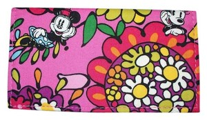 Disney Disney Mickey Mouse Checkbook Cover NWOT pink Vera #3