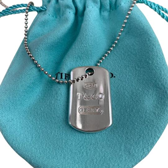 Preload https://img-static.tradesy.com/item/26182906/tiffany-and-co-1837-sliver-t-rectangle-dog-tag-18-bead-ball-necklace-0-1-540-540.jpg