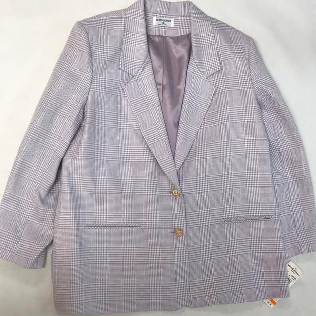 Alfred Dunner Lilac Blazer Image 3