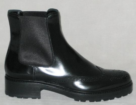 Michael Kors Collection Runway Runway Made In Italy Black Boots Image 1