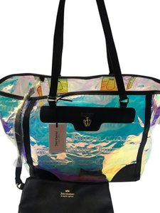 Juicy Couture Tote in Clear Iridescent
