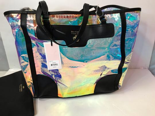 Juicy Couture Tote in Clear Iridescent Image 1