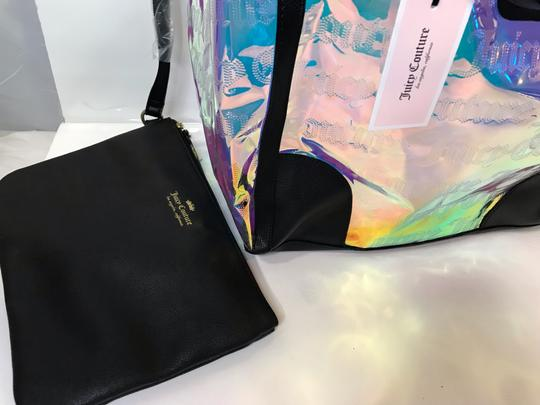 Juicy Couture Tote in Clear Iridescent Image 2