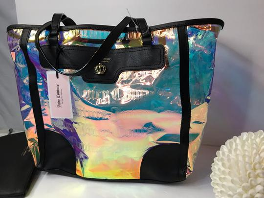 Juicy Couture Tote in Clear Iridescent Image 3