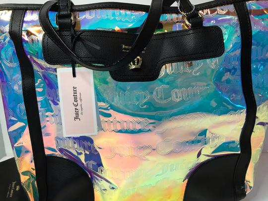 Juicy Couture Tote in Clear Iridescent Image 5