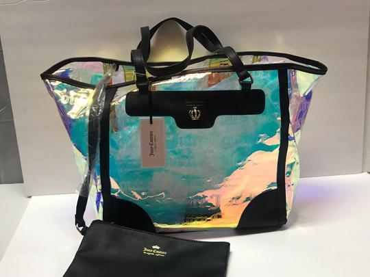 Juicy Couture Tote in Clear Iridescent Image 7
