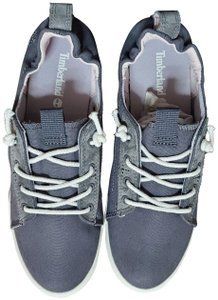 Timberland Grey Canvas Athletic