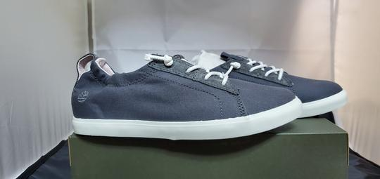 Timberland Grey Canvas Athletic Image 2