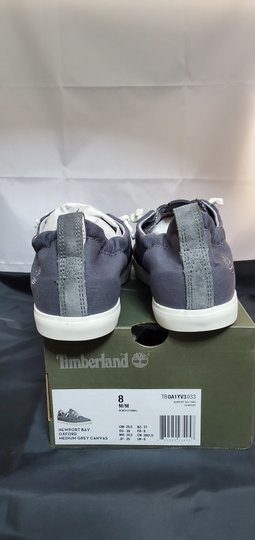Timberland Grey Canvas Athletic Image 6