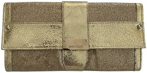Jimmy Choo Anna Anka. Bags Fashion Gold Clutch