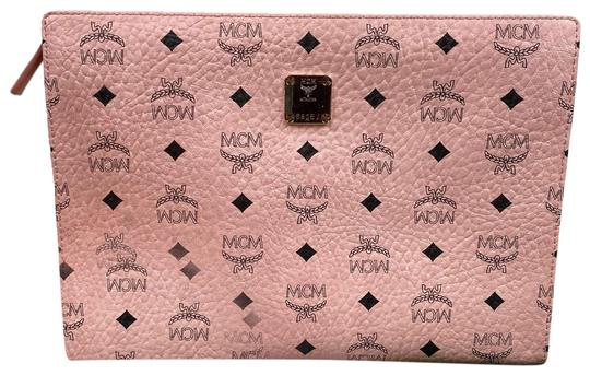 Preload https://img-static.tradesy.com/item/26183062/mcm-soft-pouch-pink-coated-canvas-clutch-0-2-540-540.jpg