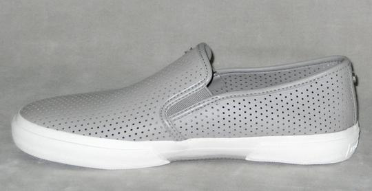 MICHAEL Michael Kors Sneakers Leather Sneakers Double Gore Lasered Leather Gray Flats Image 3