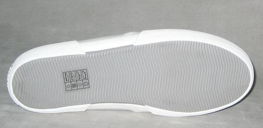 MICHAEL Michael Kors Sneakers Leather Sneakers Double Gore Lasered Leather Gray Flats Image 6