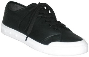 Rag & Bone Sneakers Leather Sneakers Leather Low-top Black, White Flats