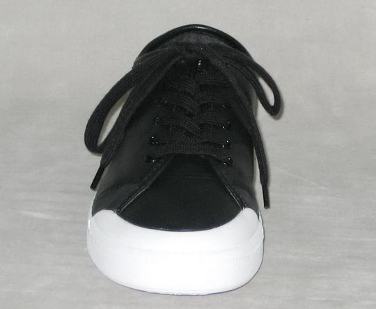 Rag & Bone Sneakers Leather Sneakers Leather Low-top Black, White Flats Image 2