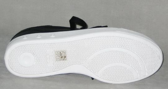 Rag & Bone Sneakers Leather Sneakers Leather Low-top Black, White Flats Image 6