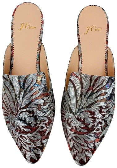 J.Crew Silver Flats Image 0