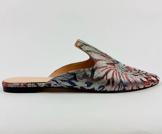 J.Crew Silver Flats Image 3