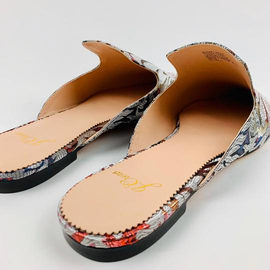 J.Crew Silver Flats Image 5