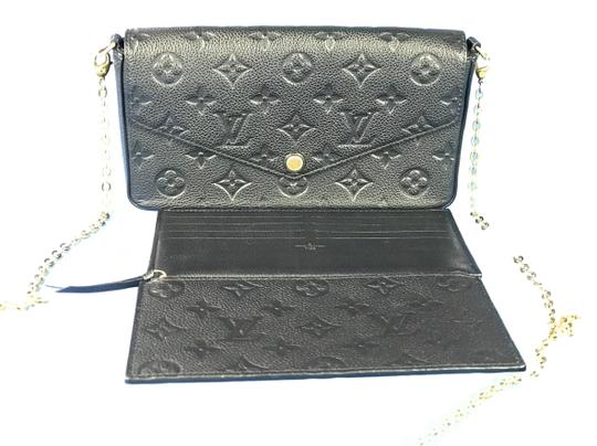 Louis Vuitton Lv Pochette Felicie Pouch Cross Body Bag Image 0
