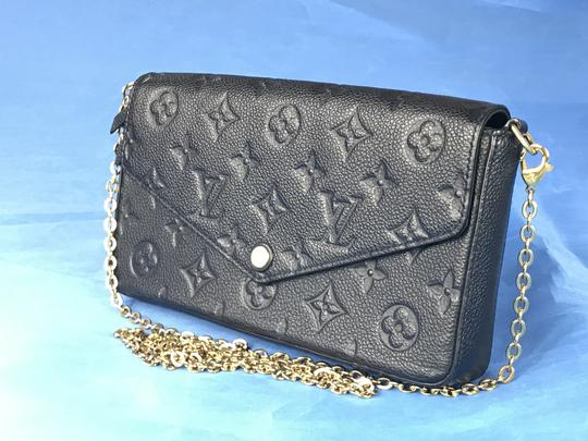 Louis Vuitton Lv Pochette Felicie Pouch Cross Body Bag Image 5