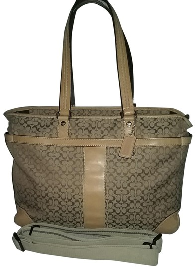 Preload https://img-static.tradesy.com/item/26183190/coach-messenger-xl-77156-laptop-khakivachetta-canvas-with-leather-accents-diaper-bag-0-1-540-540.jpg