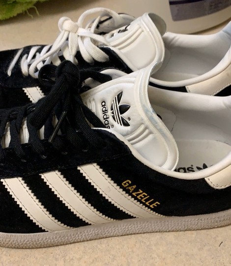 adidas Black Athletic Image 4