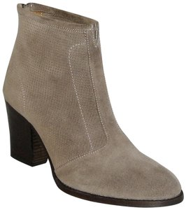 Aquatalia Made In Italy Suede Ankle Ankle Khaki Boots