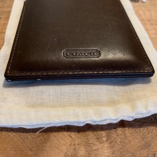 Coach Coach Mirror with Leather Case Image 2