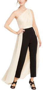 Adrianna Papell Petite Crepe Formal One Shoulder Dress