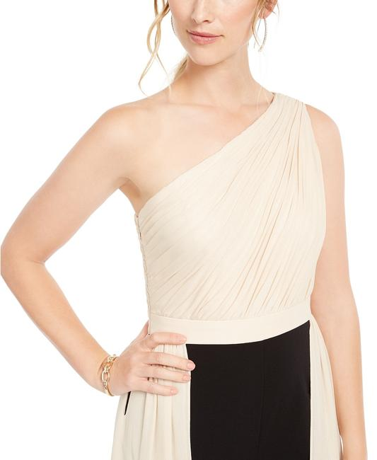 Adrianna Papell Petite Crepe Formal One Shoulder Dress Image 6
