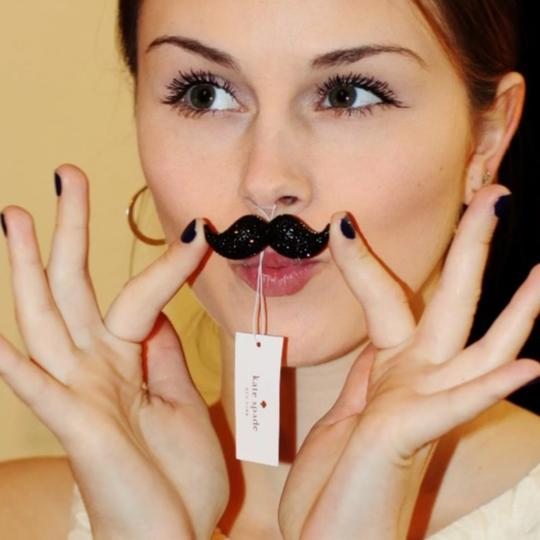 Kate Spade Dress The Part Mustache Image 4