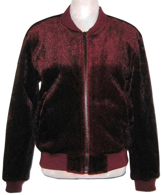 Preload https://img-static.tradesy.com/item/26183375/joa-burgundy-insulated-faux-pony-hair-bomber-s-jacket-size-6-s-0-1-650-650.jpg