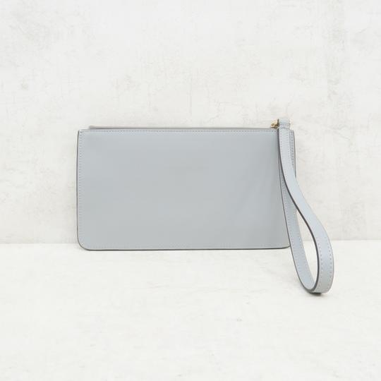 Fendi Multistud Calfskin Grey Clutch Image 3