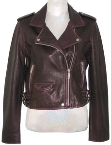 Amaryllis Leather Leather Moto Moto Motorcycle Jacket