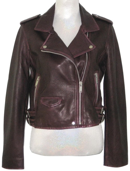 Preload https://img-static.tradesy.com/item/26183417/plum-leather-cropped-biker-jacket-size-10-m-0-1-650-650.jpg