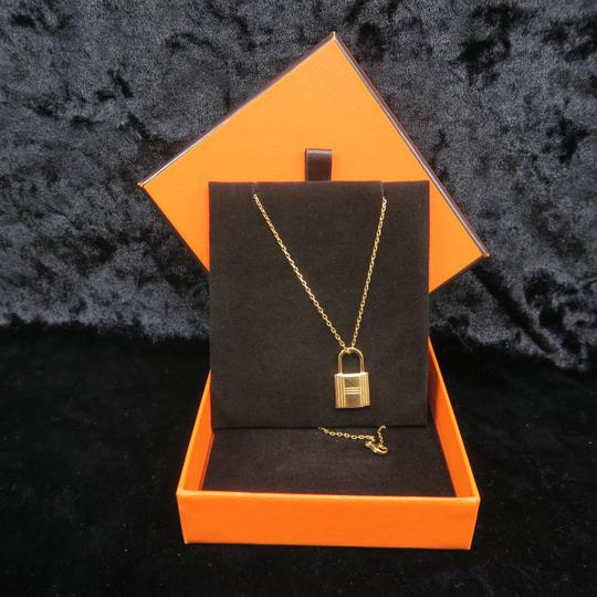 Hermès Hermès Yellow Gold Kelly Cadenas Amulette Pendant Necklace Image 1